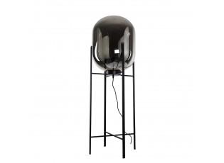 Kouřová stojací lampa Larino - 42*130*42 cm