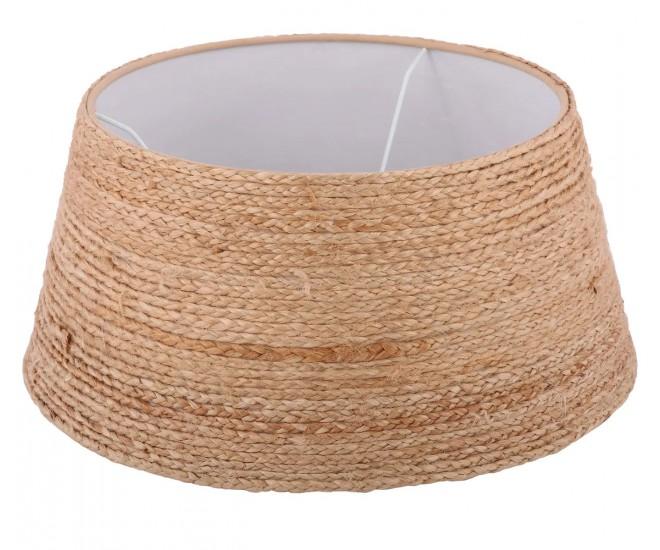 Přírodní jutové stínidlo Drum - Ø45*20 cm / E27