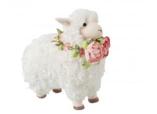 Dekorace stojící ovečka Sheep - 12*21*23cm