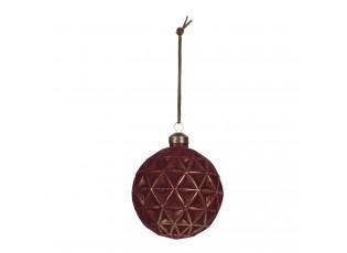 Krásná vánoční ozdoba bude krásným doplňkem na vašem stromečku. Jistě dodá stromku šmrnc a punc originality.