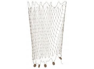 Dekorace závěsná rybářská síť - 250*150 cm