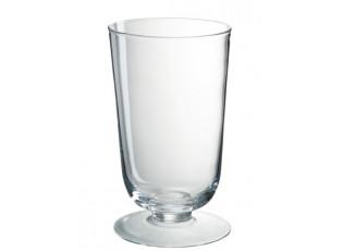 Skleněná váza Hurricane na noze - Ø 14,5*24 cm