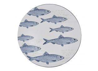Melaninový talíř s rybami - Ø 40 cm