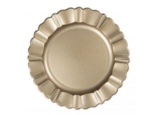 Zlatý melaninový talíř / podnos - Ø 33 cm