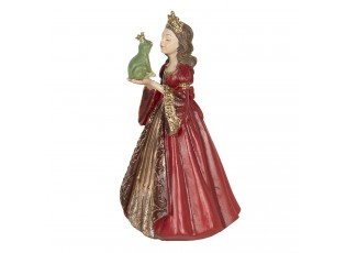 Dekorace princezna s žabákem - 8*7*13 cm