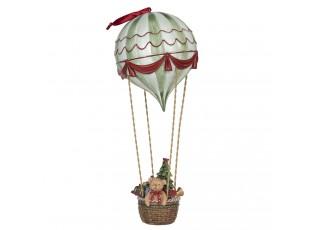 Dekorace medvídek v balónu - Ø 14*37 cm