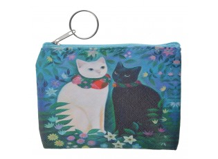 Krásná peněženka s kočičkami.