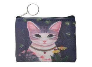 Nádherná peněženka s kočičkou,bude vašim originálním doplňkem.