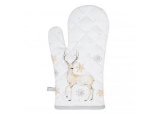 Chňapka - rukavice Pastel Christmas- 16*30 cm