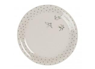Keramický talíř Swallow Sky – Ø 20 cm