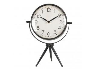 Stolní vintage hodiny na trojnožce Milun - 25*13*34 cm / 1*AA
