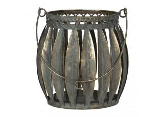 Měděná lucerna Perceval - 18*18*17 cm