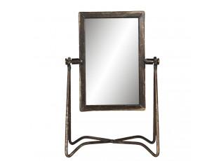 Vintage stolní zrcadlo na stojanu Fraser - 15*10*22 cm