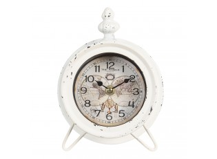 Vintage stolní hodiny s patinou The World- 14*7*19 cm / 1*AA