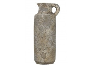 Vysoký vintage džbán cementový s patinou - 13*11*29cm