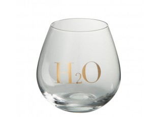 Sklenička na vodu H2O Gold - Ø 10*11 cm