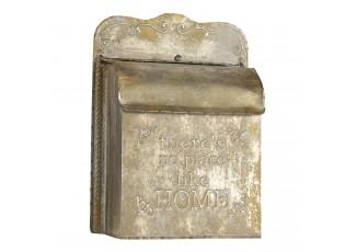 Retro poštovní schránka Home s patinou - 25*12*35 cm