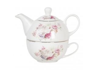 Porcelánová tea for one Fabulous Roses - 0,4L