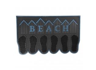 Gumová rohožka před dveře Beach - 75*45*1 cm