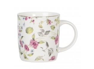 Porcelánový hrnek Pre Fleuri - 12*9*11 cm / 0.35L