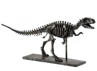 Dekorace dinosaurus Raptor na kovové noze - 56*14,5*27 cm