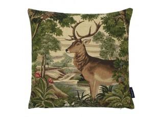 Gobelínový polštář Pohádkový jelen - 45*45*15 cm