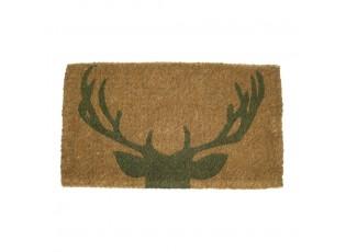 Velká rohožka před dveře s motivem jelena- 75*45*4cm
