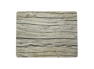 4ks pevné korkové prostírání staré dřevo Old wood - 30*40*0,4cm