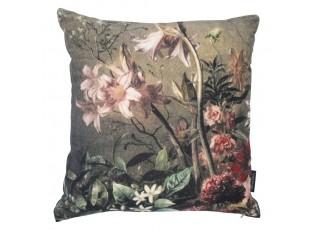 Sametový polštář rozkvetlé květiny Flowers 3 - 45*45*15cm