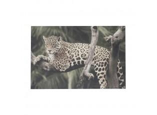 Nástěnný panel Jungle ležící panter - 35*45*1cm