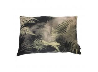 Velký sametový polštář Jungle listy - 40*60*15cm