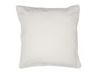 Krémový bavlněný povlak na polštář New Jacquard - 40*40 cm