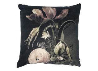 Sametový polštář rozkvetlé květiny Flowers 2 - 45*45*15cm