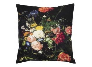 Sametový polštář s květy  Jan Davidsz - 50*10*50cm