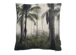 Sametový polštář s palmami Palm  - 45*45*10cm