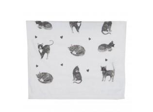 Kuchyňský froté ručník Cats and Kittens - 40*66 cm