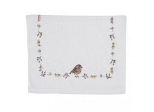 Kuchyňský froté ručník s motivem ptáčka Moineau - 40*66 cm
