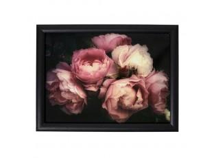 Podnos na nohy s růžemi Vintage Rose - 43*33*7cm