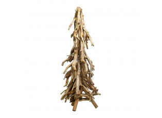 Dekorace stromu z naplaveného dřeva - 25*25*62cm