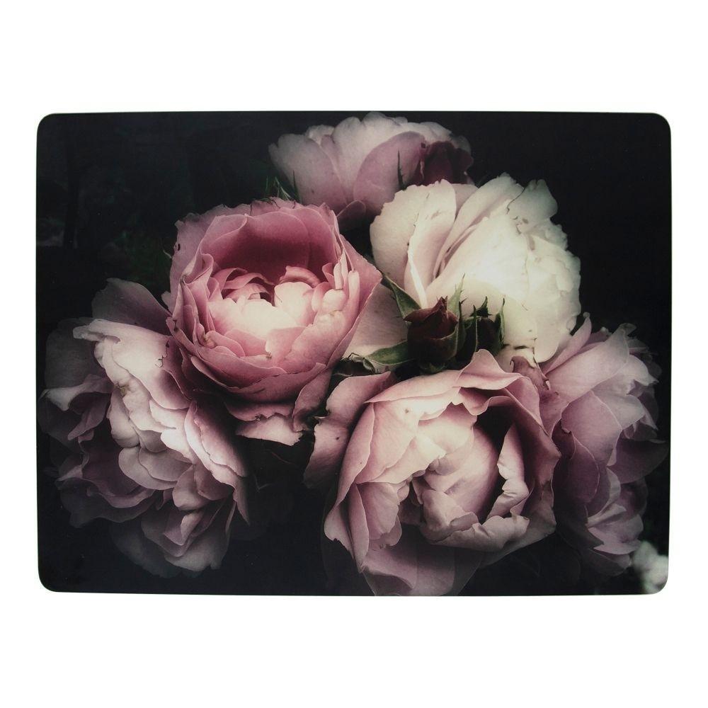 Mars & More 4ks pevné korkové prostírání Vintage Roses - 30*40*0,4cm