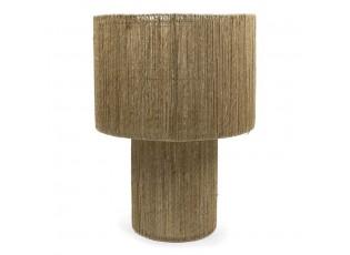 Jutová stolní lampa Renart - Ø 44*60cm