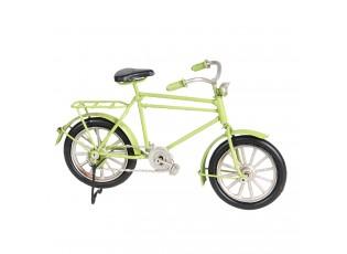 Kovový retro model jízdního kola v neonové barvě  - 16*5*10 cm