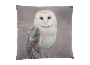 Sametový polštář se sovou Owl - 45*45cm