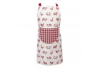 Dětská kuchyňská zástěra s potiskem Country Life Animals - 48*56 cm