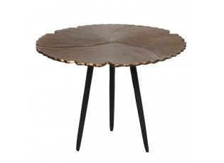 Odkládací stolek s vějířovitým designem Coquilles – Ø 50*36 cm