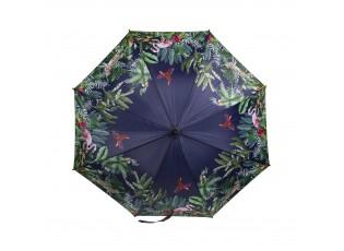 Černý deštník s motivem džungle Jungle black -  Ø 105*88cm