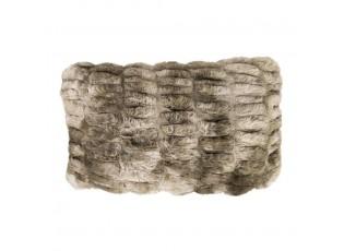 Chlupatý žíhaný polštář Bear - 30*50*15cm