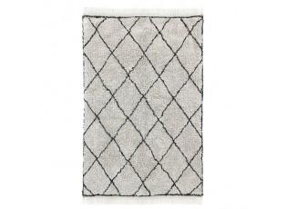 Tkaný bavlněný koberec s diamantovým vzorem Diamond  - 120*180 cm