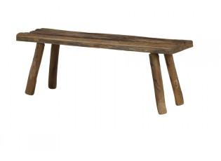 Dřevěná lavice Cedro - 98*29*37 cm