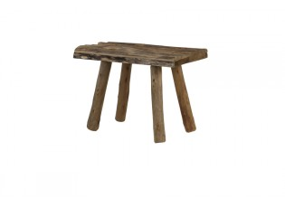 Dřevěná stolička Cedro - 50*31*37 cm